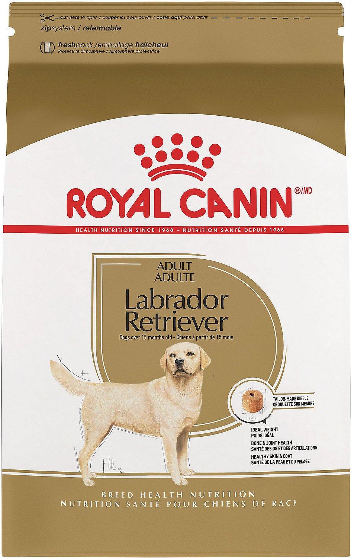 Royal Canin Labrador Retriever Adult Dry Dog Food, 30-lb bag