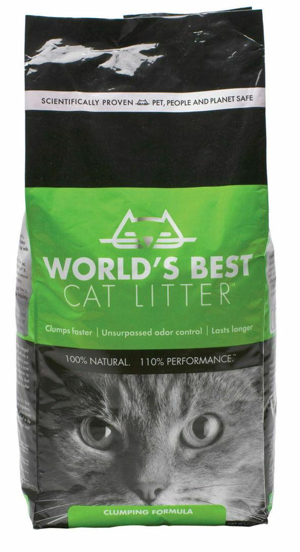 World's Best Cat Litter Original Clumping Formula, 28-lb bag