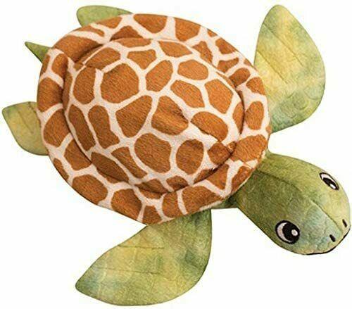 Snugarooz Sheldon the Turtle Dog Toy, 10-in
