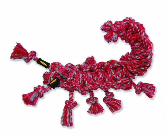 Mammoth SnakeBiter Scorpion Rope Dog Toy, Color Varies, Medium (Weights: 10.08 ounces) Image