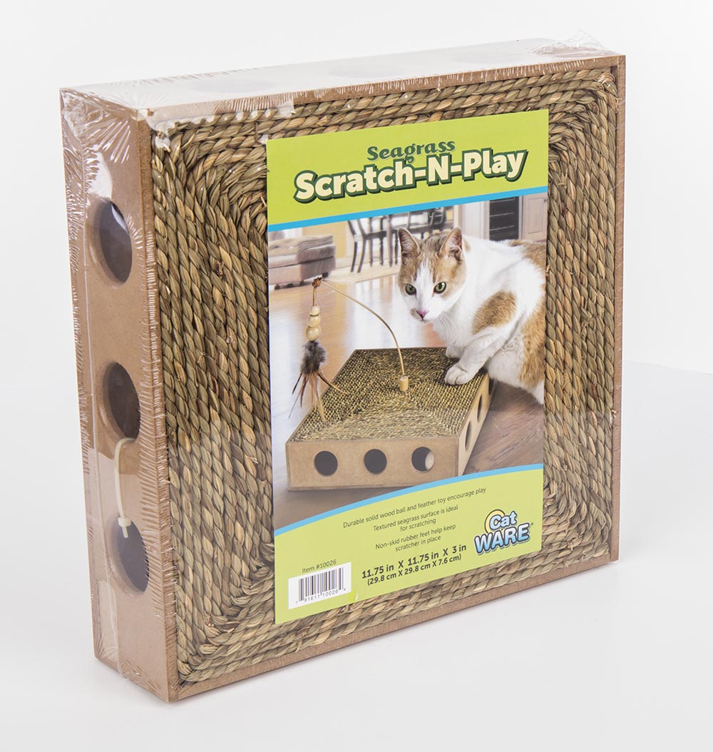 Ware Seagrass Scratch 'n Play Interactive Cat Toy