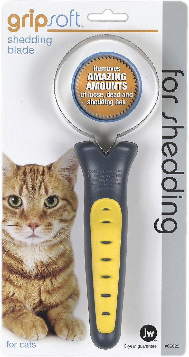 JW Pet Gripsoft Cat Shedding Blade