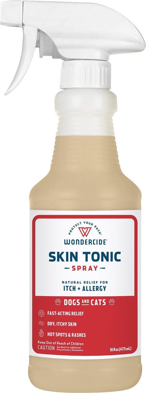 Wondercide Skin Tonic Itch + Allergy Relief Pet Spray, 16-oz