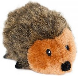 ZippyPaws Hedgehog Plush Dog Toy, Small