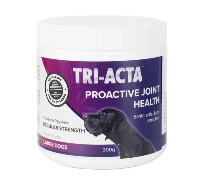 Tri-Acta Regular Strength Joint Health Supplement for Large Dogs, 300-gram