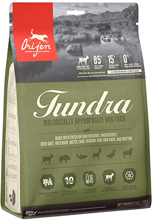 Orijen Tundra Dry Dog Food, 25-lb