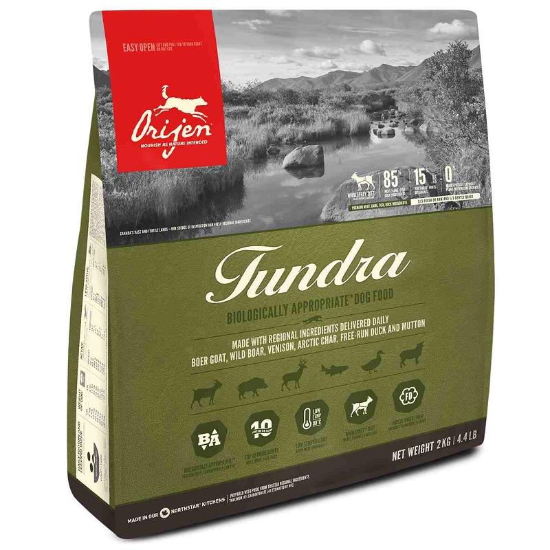 ORIJEN Tundra Grain-Free Dry Dog Food, 1.8-kg