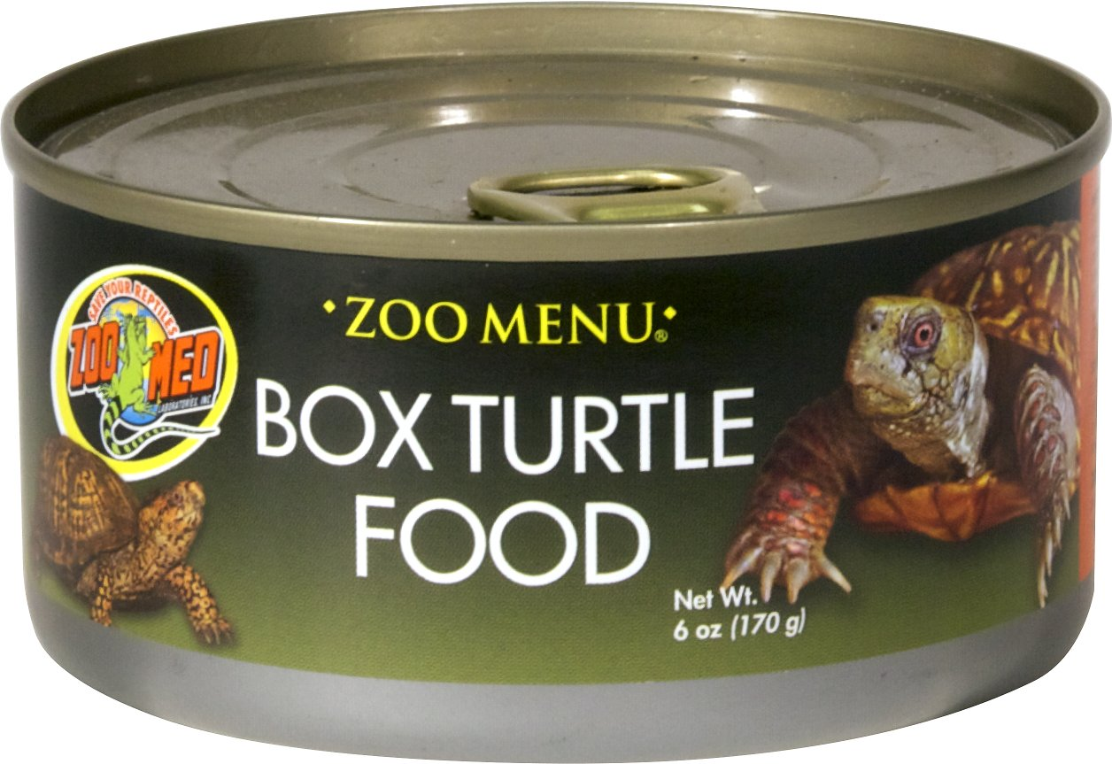 Zoo Med Canned Box Turtle Food, 6-oz can