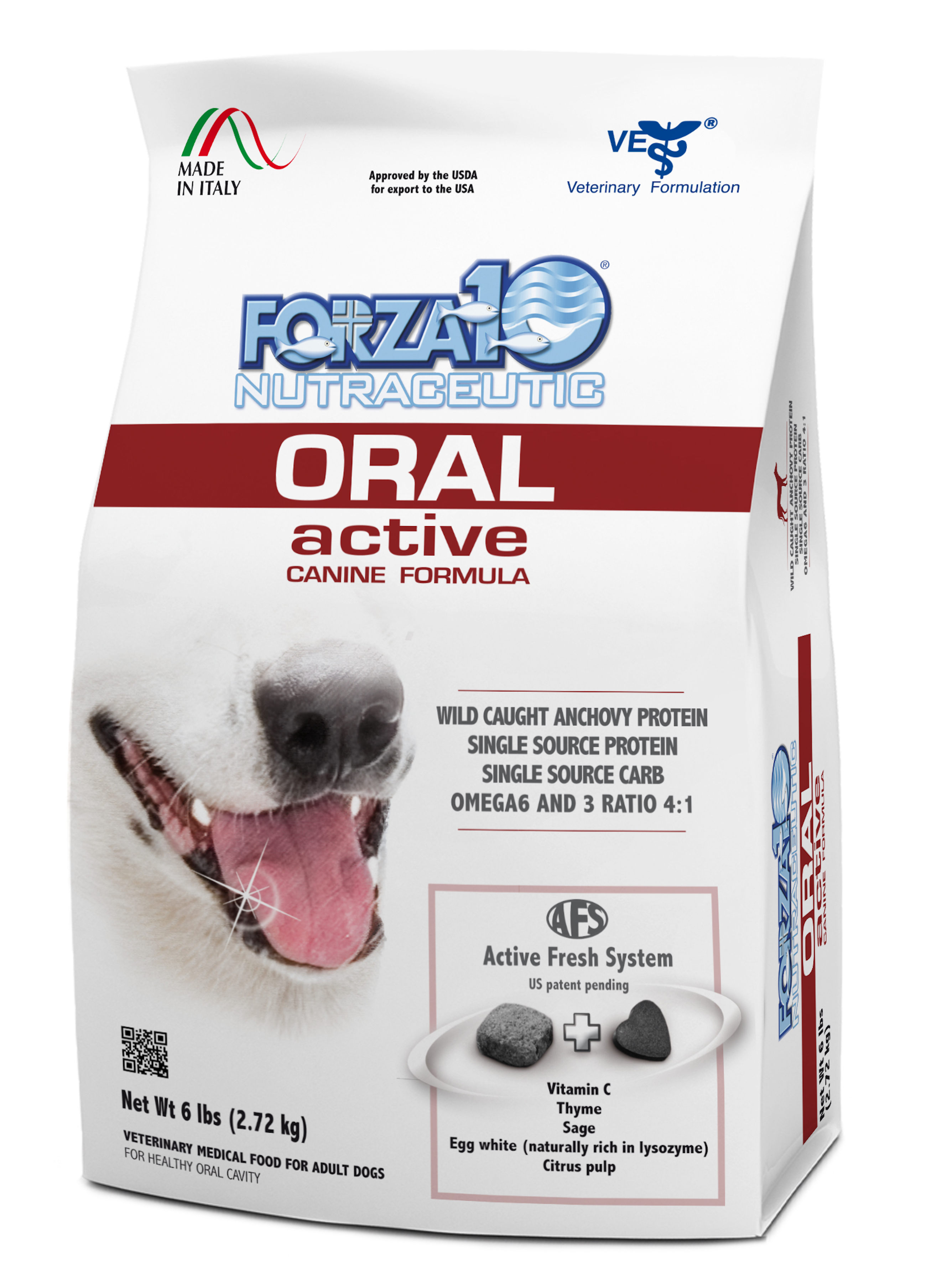 Forza10 Active Line Oral Active Dry Dog Food, 6-lb