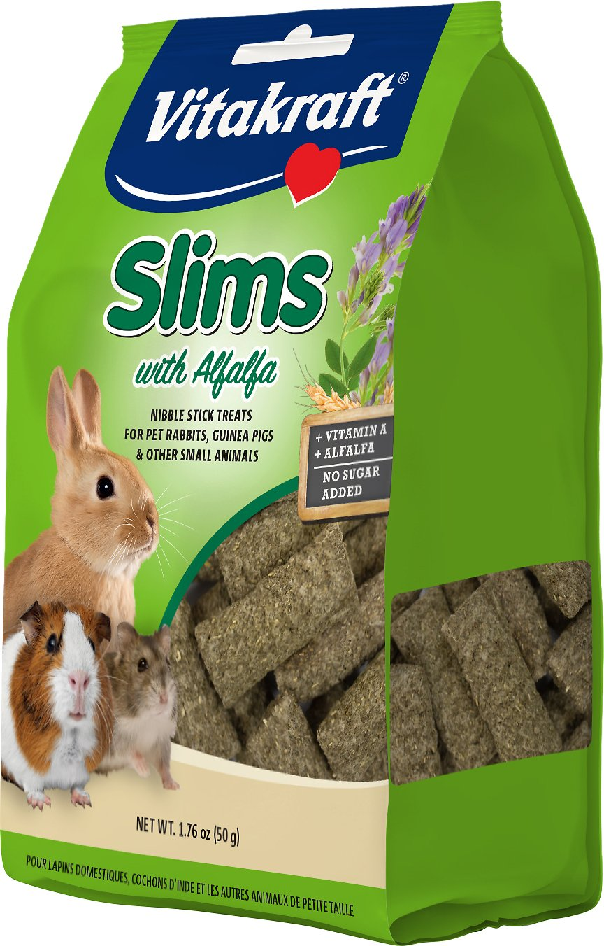 Vitakraft Slims with Alfalfa Rabbit Treats, 1.76-oz bag