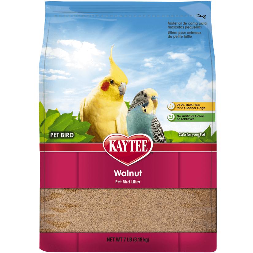 Kaytee Walnut Natural Bird Litter, 7-lb bag