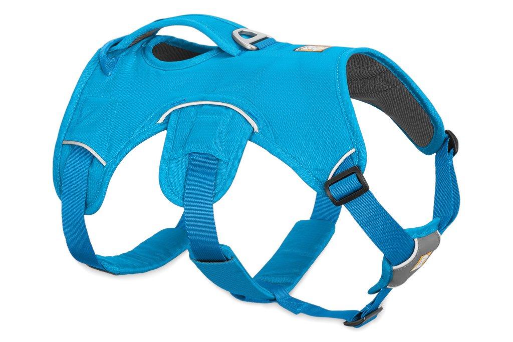 Ruffwear Web Master Supportive Multi-Use Dog Harness, Blue Dusk, Large/X-Large