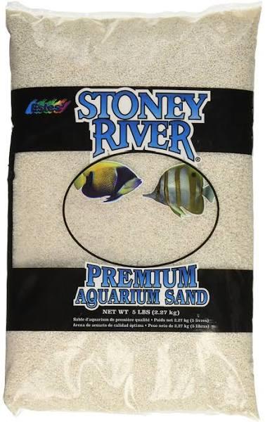 Estes Premium Aquarium Sand, White, 5-lb bag