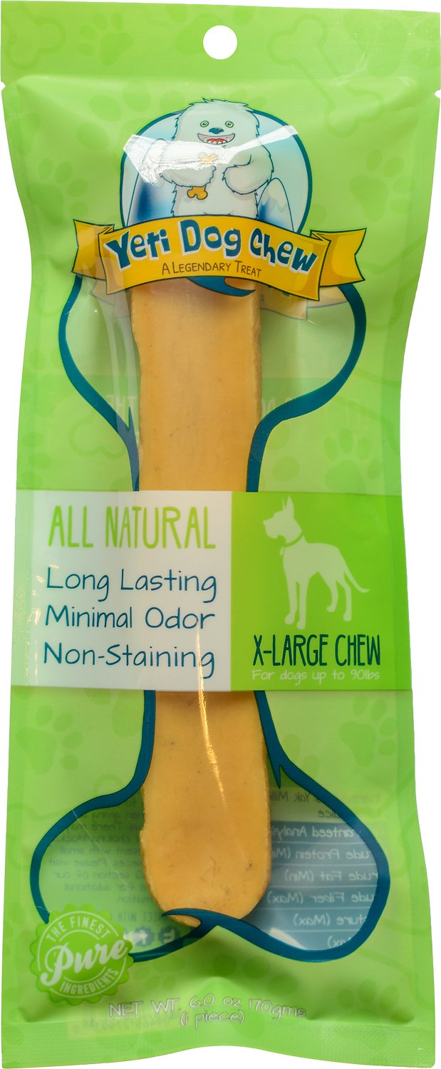 Yeti Dog Chew X-Large Himalayan Cheese Packaged Dog Treats, 1-count